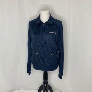 Women's size medium Reebok track jacket